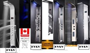 23 KV&V shower panel tower column systems of EXCEPTIONAL quality