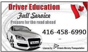 DRIVING SCHOOL,Lesson,Instructor,ROAD TEST in 1-2DAY,CERTIFICATE