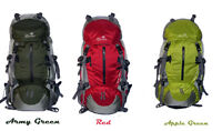 New  50L School Luggage Backpack Camping Travel Hiking Packs