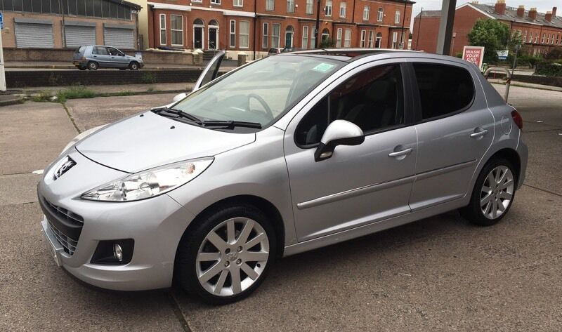 peugeot 207 1 6 vti 120 allure 5dr automatic in old trafford manchester gumtree. Black Bedroom Furniture Sets. Home Design Ideas