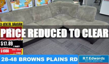 Milan Corner Modular Sofa with Chaise and Warranty