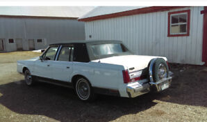 1988 Lincoln Town Car Berline
