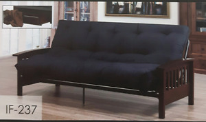 Make living affordable New Futon frame with Mattress Now on sale