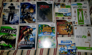 Nintendo Wii Game Bundle