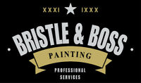 BRISTLE & BOSS PAINTING (Summer 2018!)