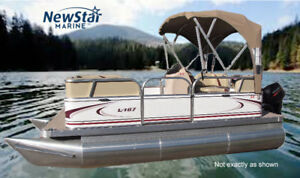 NEW 14ft Compact Pontoon for under $15,000 W/Motor NS