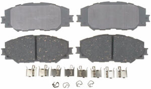 ACDelco 14D1210CH Advantage Ceramic Front Disc Brake Pad Set