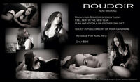 Boudoir photo session