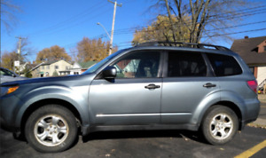 Subaru Forester 2011 (all wheel drive)