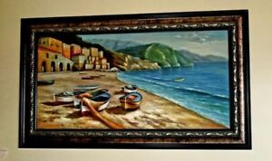 Beautiful Oil Painting with frame - like New