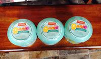 three diaper genie refills brand new !
