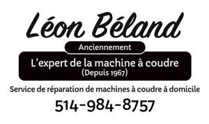 Réparation de machines à coudre 514 984-8757