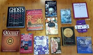 12 Spiritual/Mystical Hard Cover Books, Like New, all for $18!
