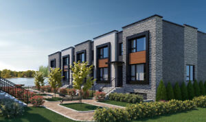 Dreamy brand new 4 bedroom townhouse for rent w/ water views