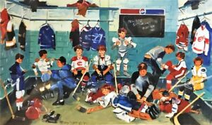 """NHL Art Collection """"Saturday Morning Practice"""" by Terry Tomalty"""