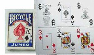 Mazzo-di-carte-Bicycle-Blu-giochi-di-prestigio-trucchi-magia