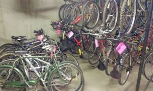 Refurbished Bikes for Sale Every Thursday at 1057 Logan Ave