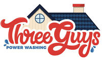 Three Guys Power Washing Services