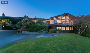 luxury house west vancouver with 360 view