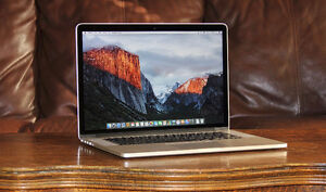 Mac Book Pro Retina late 2013 mint10/10 condition high end specs
