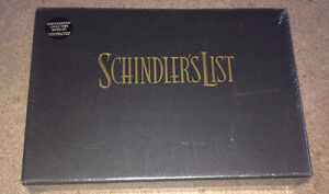 Schindler's List VHS/BOOK LIMITED COLLECTOR'S EDITION BOX SET