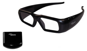 Optoma ZF2300 Active 3D Glassess x2 with BC300 emitter x1
