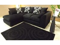 ¬¬ SEAL PACK ¬¬ BARCELONA CORNER SOFA OR 3+2 SOFA SET AVAILABLE NOW IN STOCK