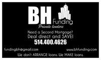 Private Mortgage Loans! Prêt Hypothécaire Privé