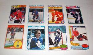 Hockey cards  VINTAGE