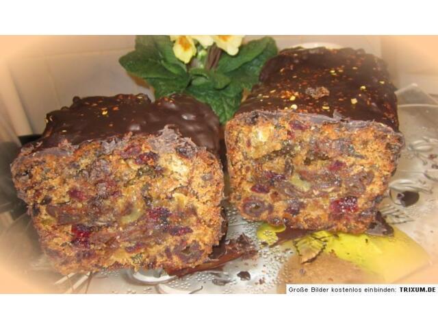 ● fränkisches früchtebrot feine chilinote ein hauch v schokolade OHNE MEHL 1kg