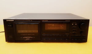 EXCELLENT ~Pioneer CT-M55R Multi 6 Cassette Tape Player Recorder