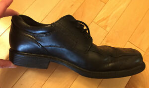Black Leather ROCKPORT SHOES