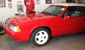 1992 Mustang convertible 5 l