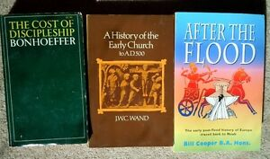 """History of Early Church, Cost of Discipleship, After the Flood"""