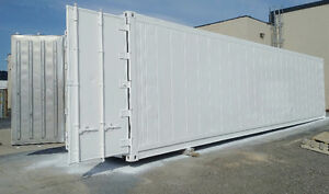 Reefer freezer refrigerator. Sea container 40 Ft 9.6 tall