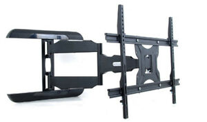iCAN TV Monitor Wall Mount Bracket with Full Motion Articulating