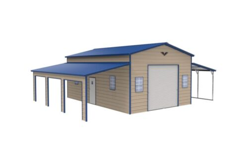 42x31 STEEL Garage, Barn  FREE DELIVERY & INSTALLATION Nationwide! (prices vary)