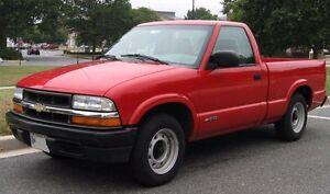 1995-2003 GMC Sonoma chev s10