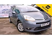 2008 57 CITROEN C4 PICASSO 2.0 GRAND EXCLUSIVE HDI EGS 5D AUTO 135 BHP! P/X WELC