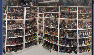 Huge action figure collection at London collectibles expo