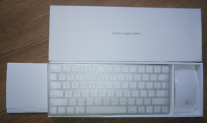 Apple magic air keyboard and mouse