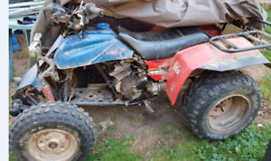 1985 Honda Four Trax and Parts