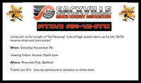 Sackville Minor Hockey Atom AA (White) Fundraising Auction