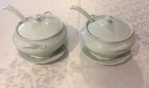 NEW LOWER PRICE - 2 Soup tureens with ladle