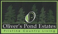 Lots For Sale in Beautiful Oliver's Pond Estates, Portugal Cove