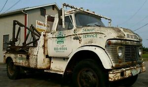 Vintage Ford Tow Truck