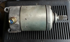 Honda CRF 230F Starter Motor &Voltage Regulator