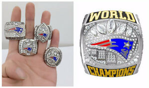 New England Patriots Championship Ring Set