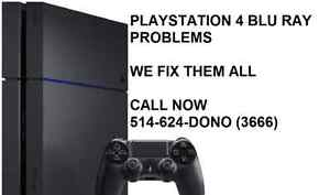 PS3/PS4 repair reparation HDMI - PS3 CD DVD BLURAY- BLOD- YLOD West Island Greater Montréal image 2