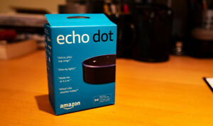 Amazon Echo Dot (Black) - Brand New/Unopened